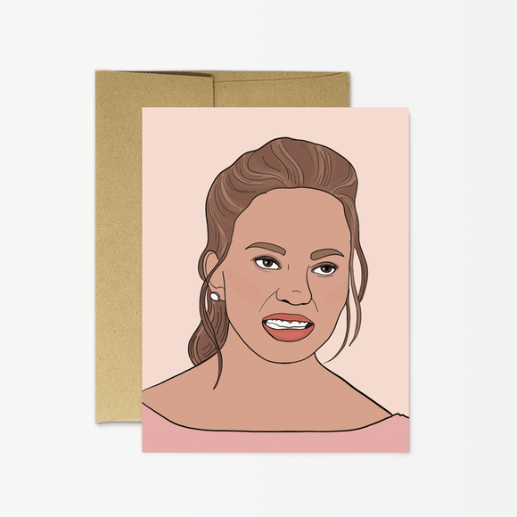 Card - Chrissy Teigen
