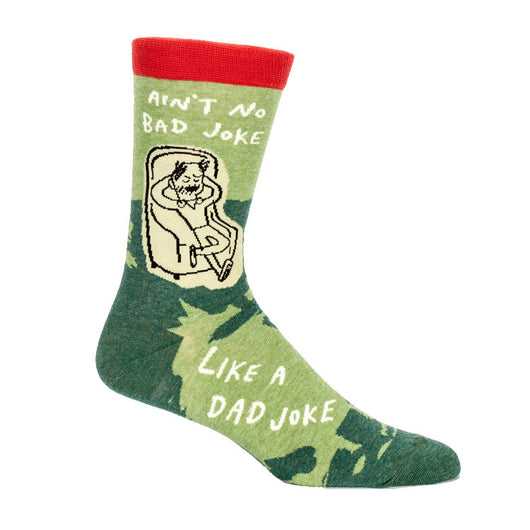 Dad Jokes Men's Crew Socks