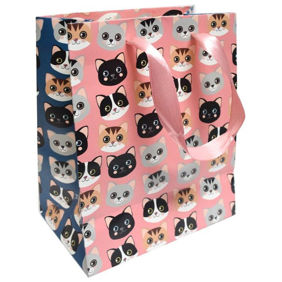 Medium Gift Bag - Cats