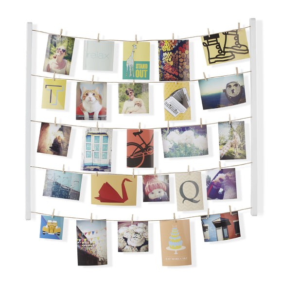 Hangit Photo/Memo Holder - White