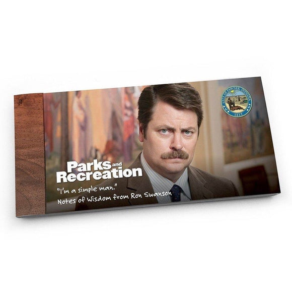 Notes of Wisdom - Parks & Rec - Ron Swanson