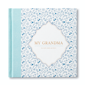 My Grandma - In Her Own Words Book