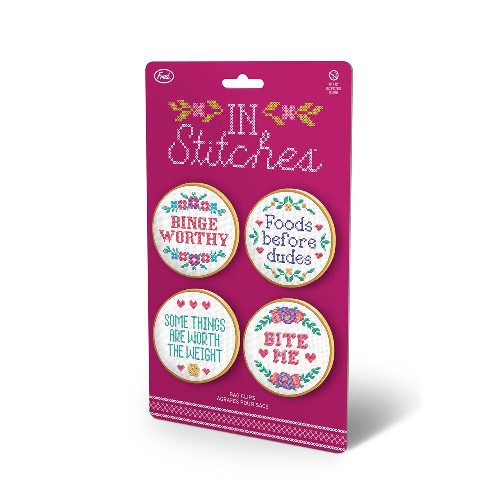 Bag Clips - In Stitches