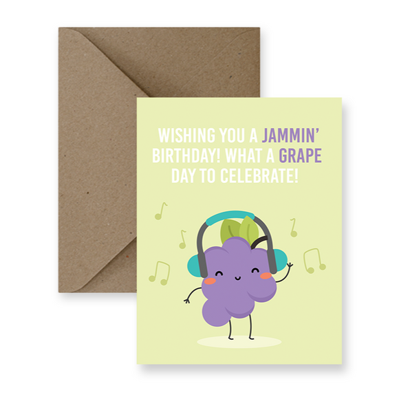 Card - Jammin' Birthday