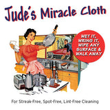 Twisted Goods Jude's Miracle cloth for dusting, glass cleaning, and stainless steel.  European Microfiber, streak-free shine.  Use damp, dries streak free