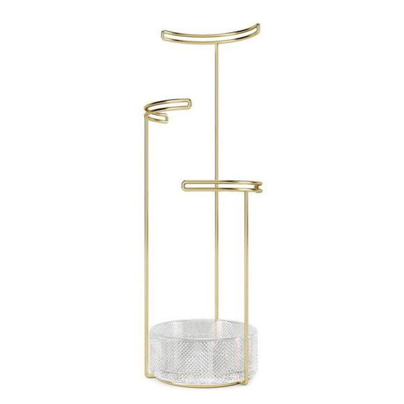 Tesora Jewelry Stand - Glass