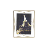 Prisma Photo Frame - Brass 5x7