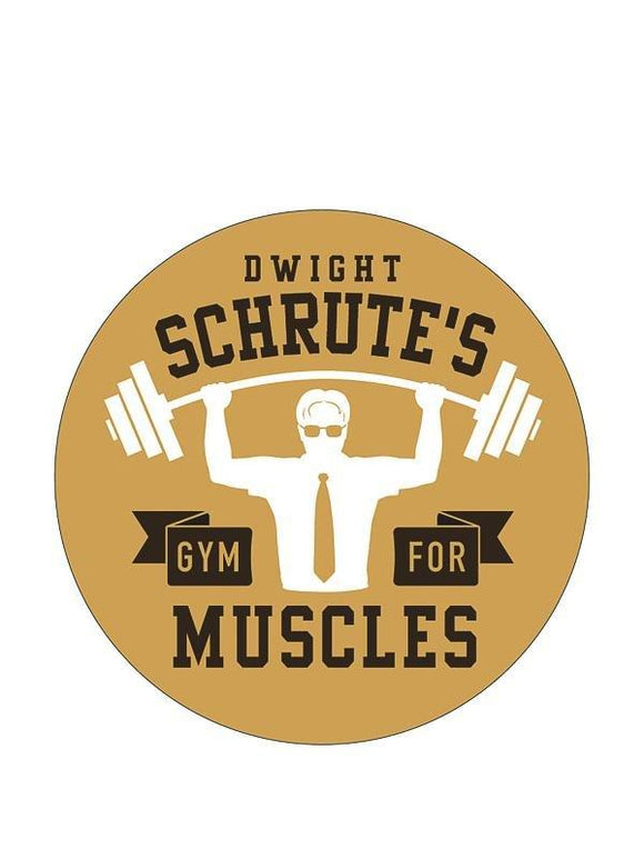 Sticker - The Office - Dwight Schrute's Gym