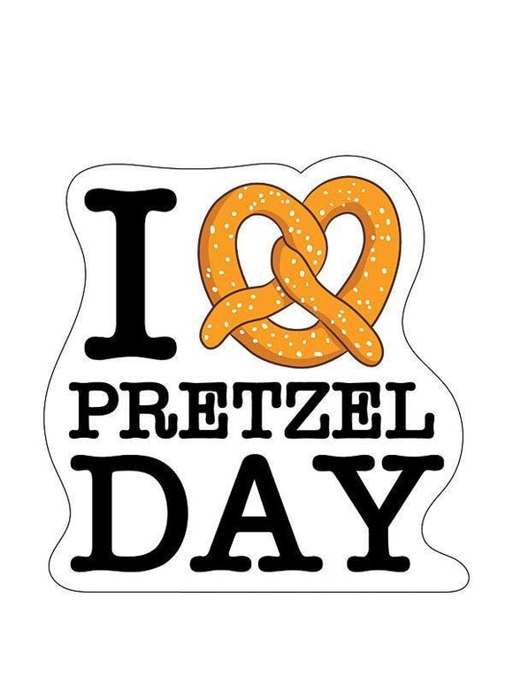 Sticker - The Office - Pretzel Day