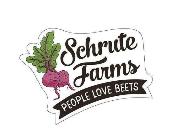 Sticker - The Office - Schrute Farms
