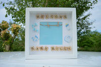 Welcome Baby Boy Photo Frame