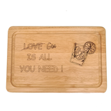 GIN is all you need - Engraved Wooden Chopping Board