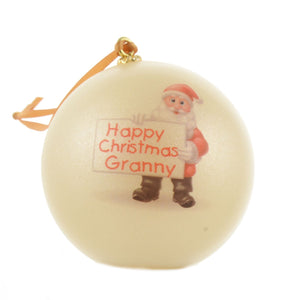 Unbreakable Christmas Bauble