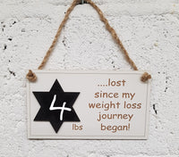 Weight Loss Motivation Plaque