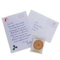 Santa's Lost Button and Personalised Letter