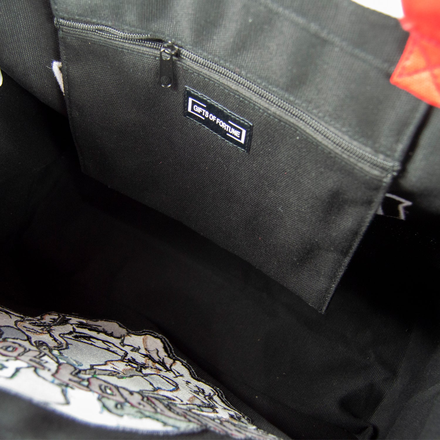 And Everything In It Tote Black