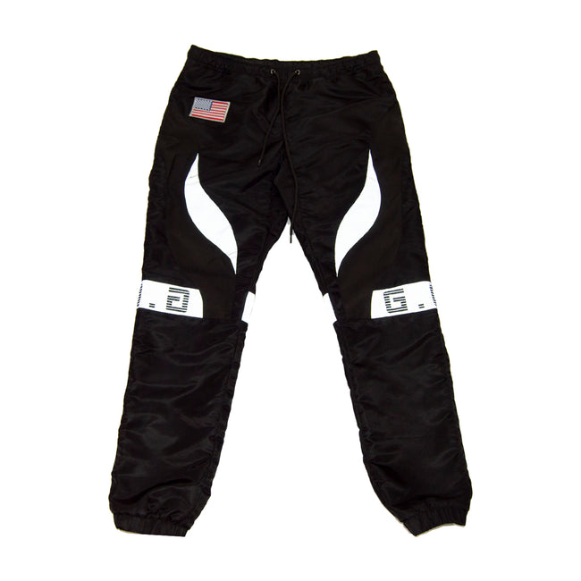 Black Area 51 Reflective Pants