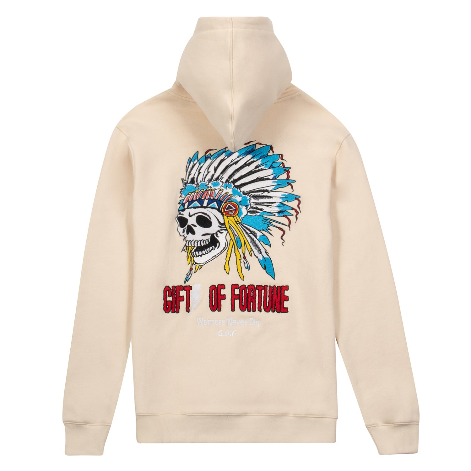 Tan Indian Warrior Hoodie
