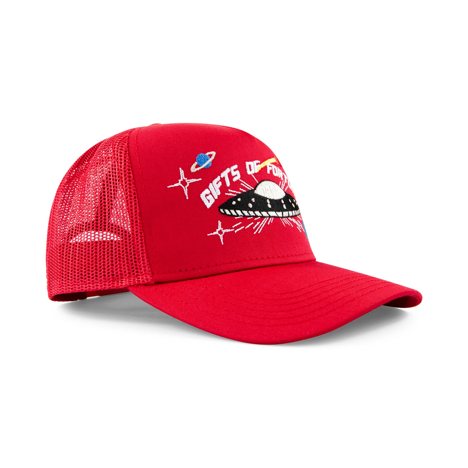 Red They're Here Trucker