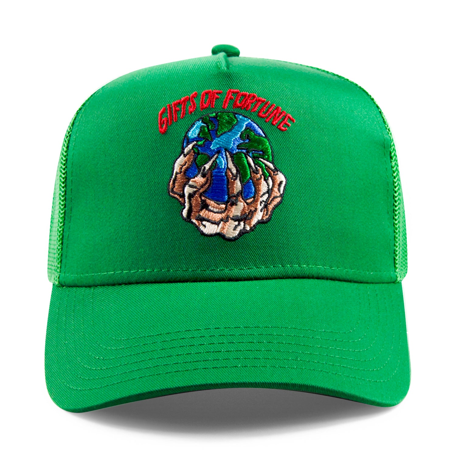 Green The World is Yours Trucker
