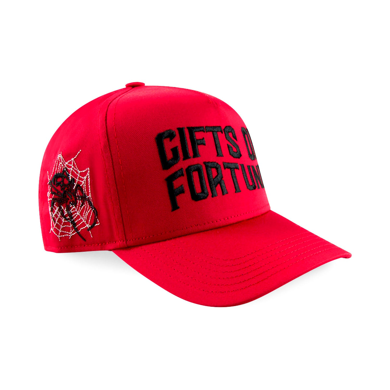 Red/Black Black Widow Trucker