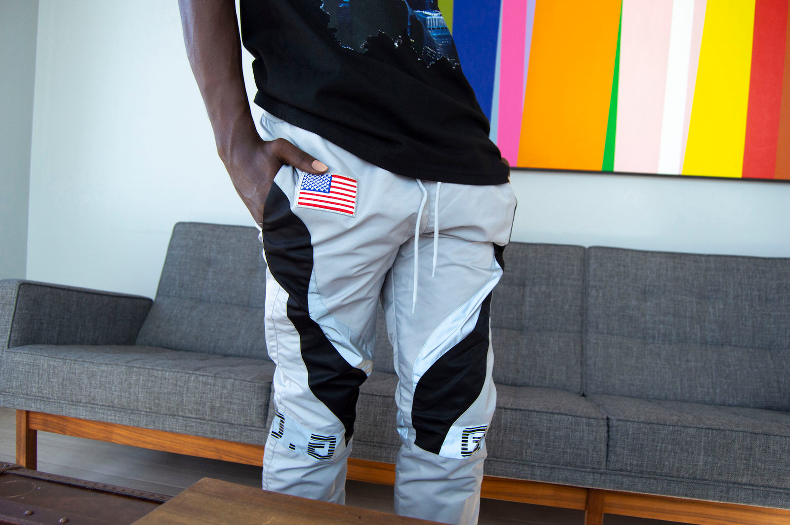 Area 51 Reflective Pants - Gifts of Fortune