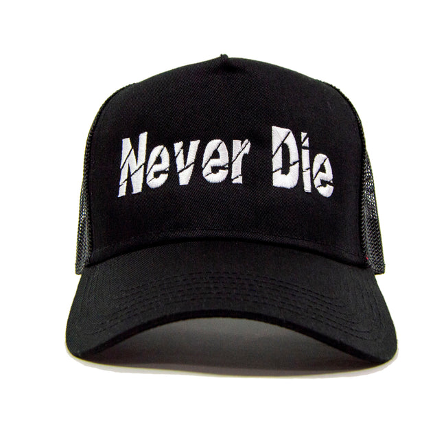 Black Never Die Trucker - Gifts of Fortune