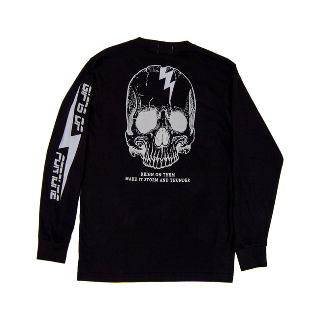 Black GOF Reign Long Sleeve T-shirt - Gifts of Fortune
