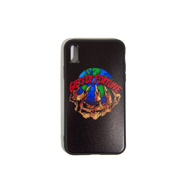 Black The World is Yours iPhone Case - Gifts of Fortune