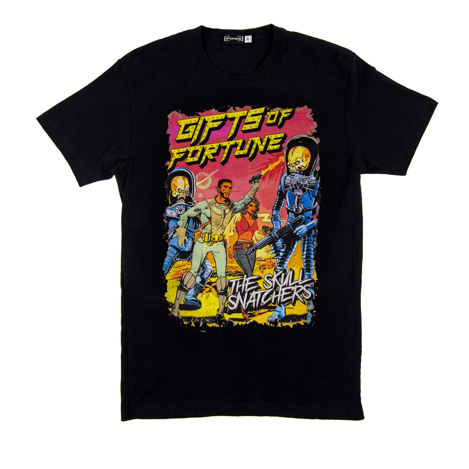 Black Fight Back T-shirt - Gifts of Fortune