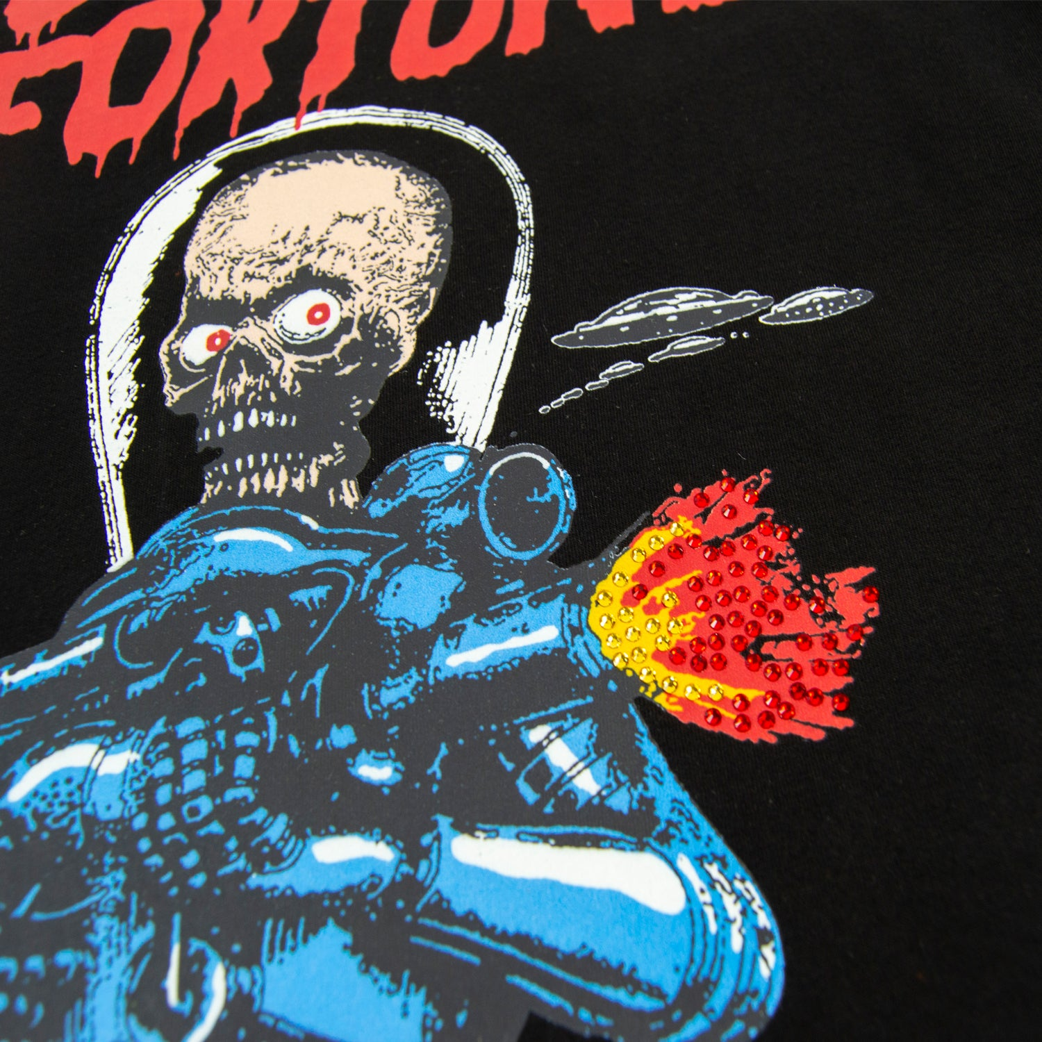 Fire Power T-shirt Black