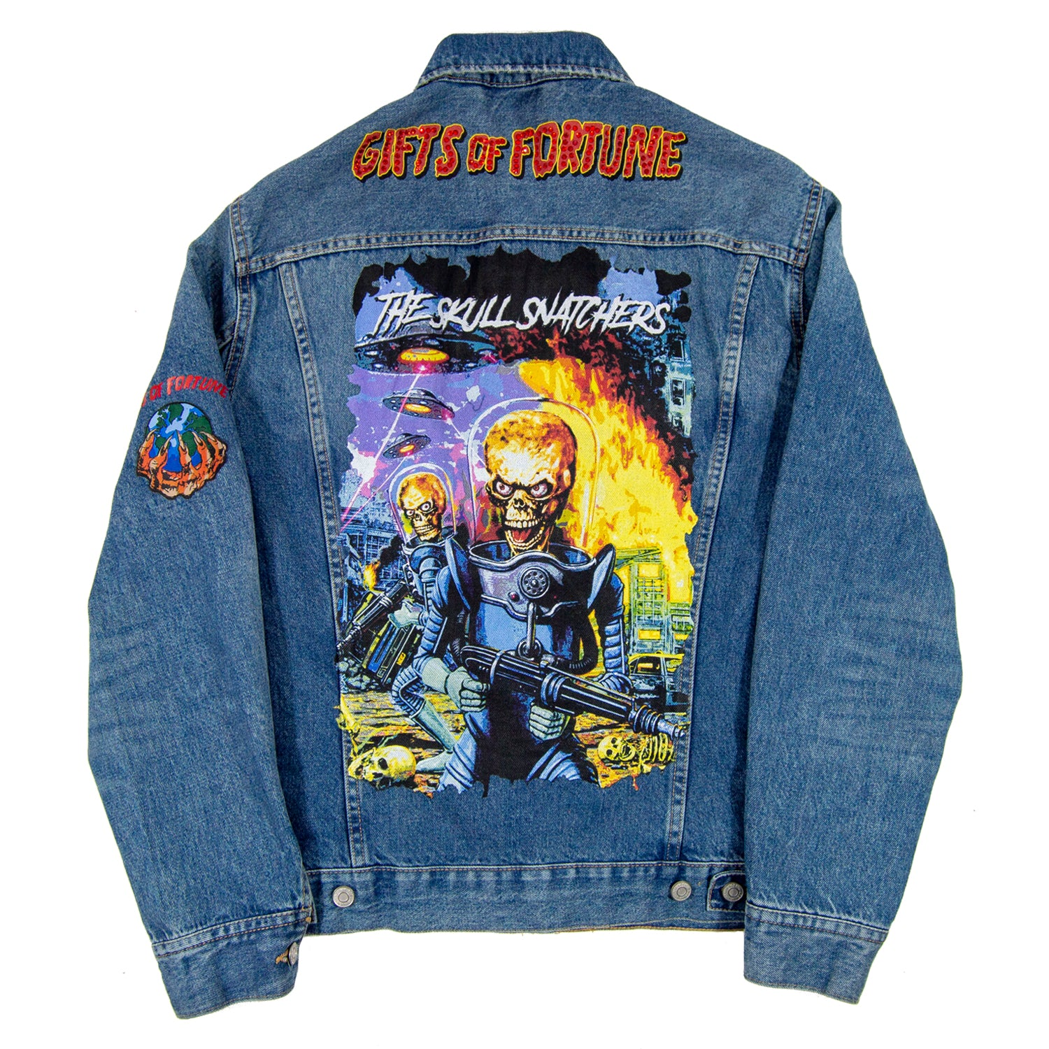 Act of War Denim Jacket - Gifts of Fortune