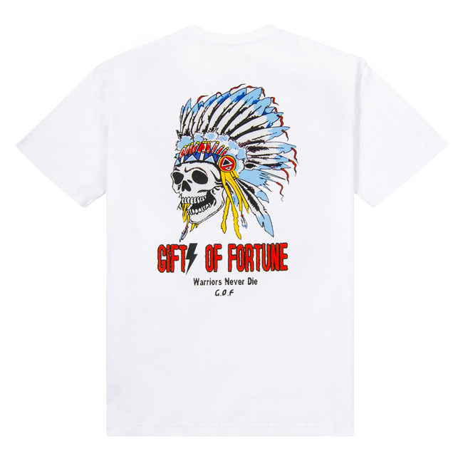 White Indian Warrior T-shirt