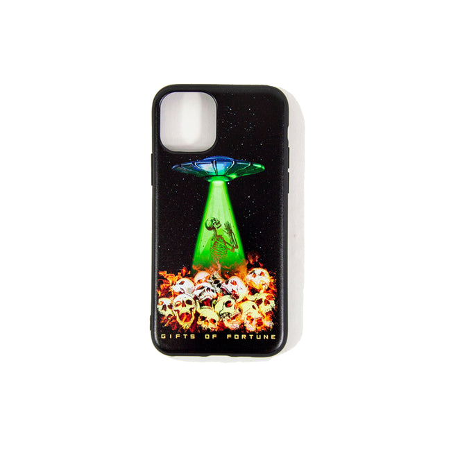 Fire, Skulls, & Spaceships iPhone Case - Gifts of Fortune