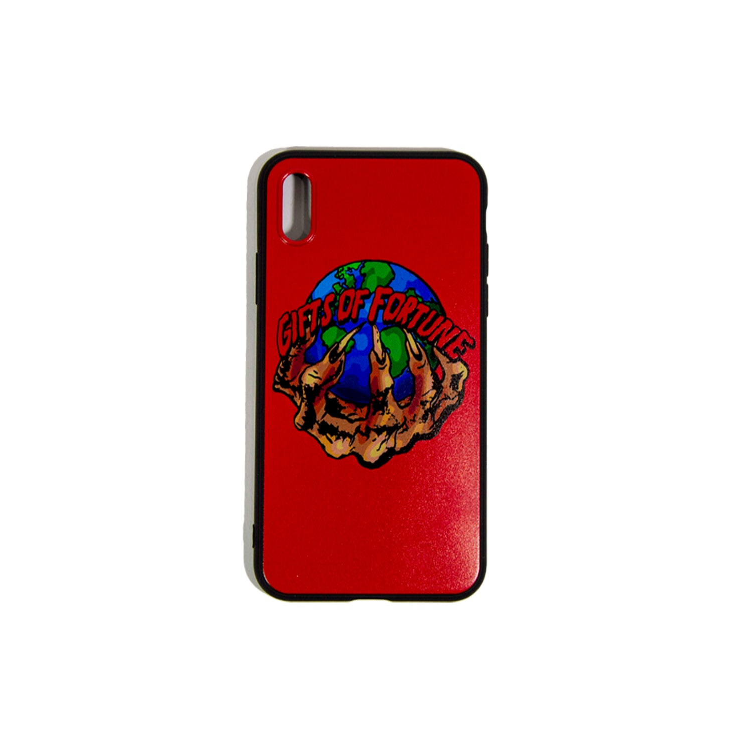 Red The World is Yours iPhone Case - Gifts of Fortune