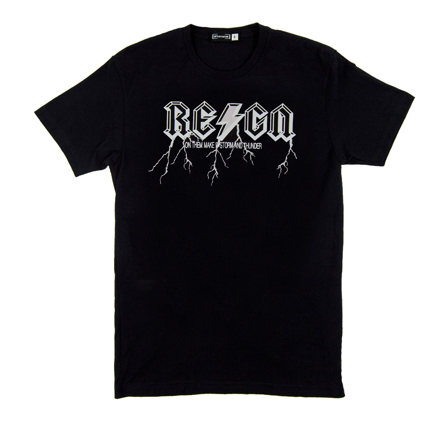 Black Reign 2 T-shirt - Gifts of Fortune