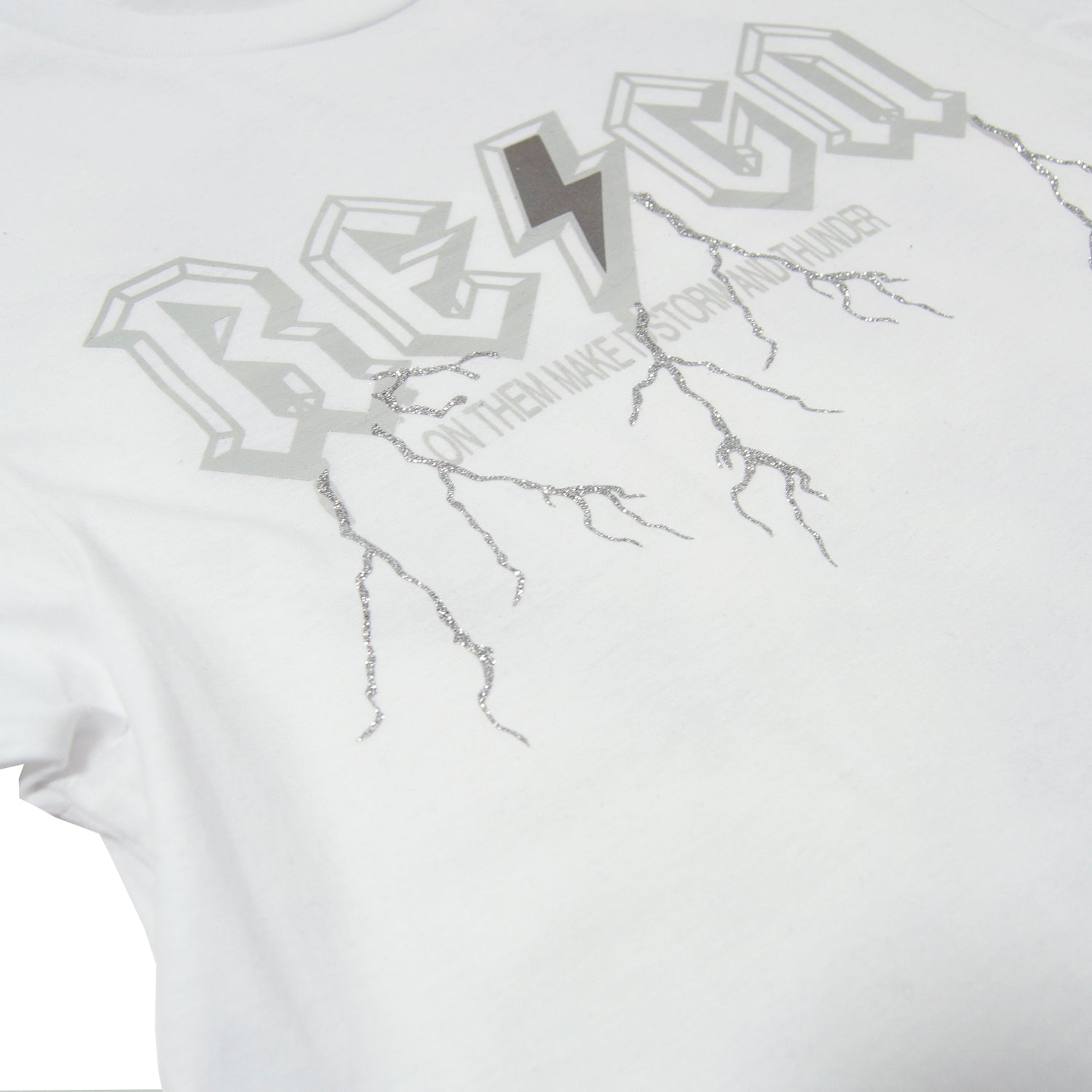White/Grey Re⚡️gn 2 T-shirt - Gifts of Fortune