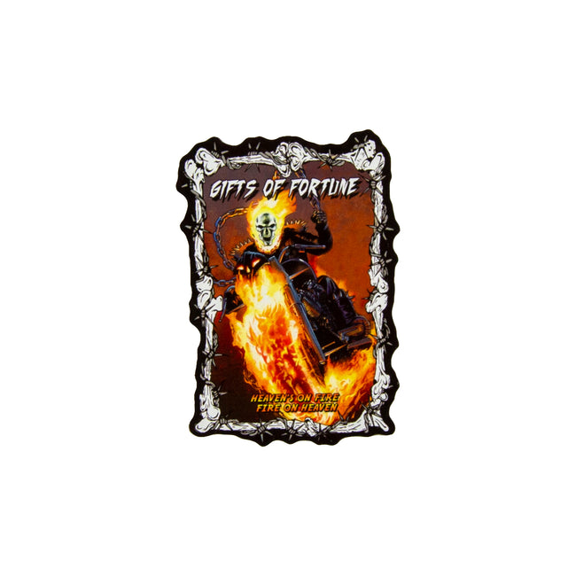 Heavenly Flames Sticker