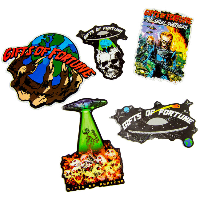 THE SKULL SNATCHERS Sticker Pack