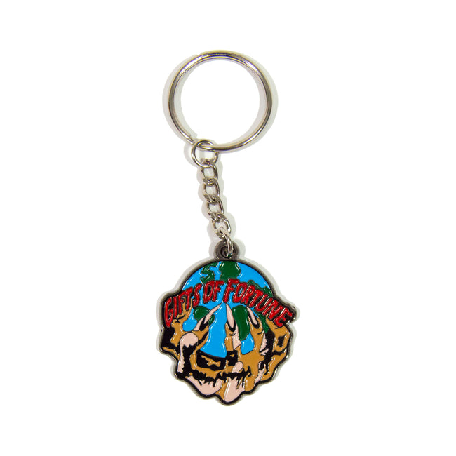 The world is yours key chain - Gifts of Fortune