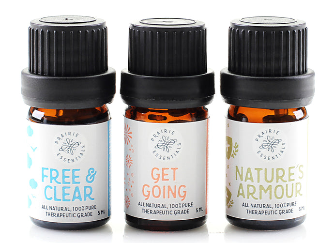 LIVE WELL Essential Oil Blends Set, 15ml