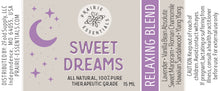 Sweet Dreams, 15ml Essential Oil Blend