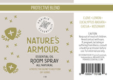 Nature's Armour Room Spray, 2 oz.