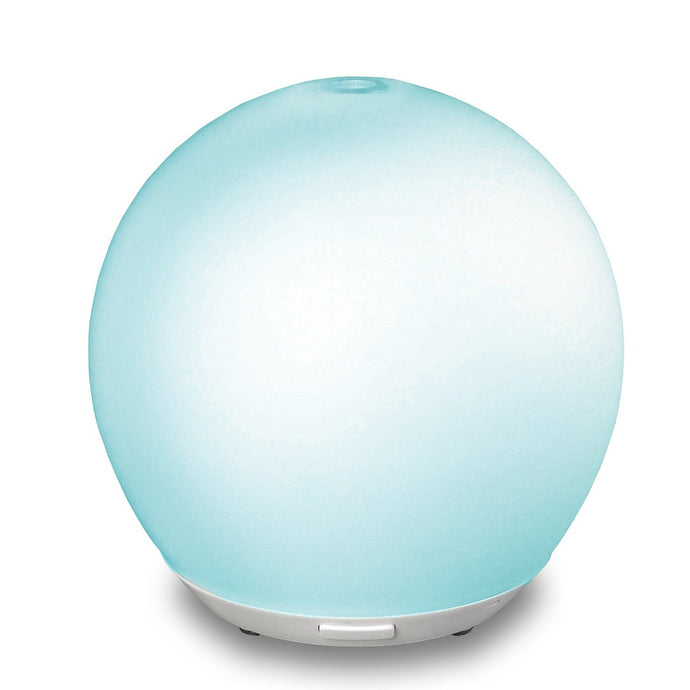 Oasis Essential Oil Ultrasonic Cool Mist Frosted Glass Diffuser