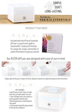 Aster - 100ml, Essential Oil Ultrasonic Cool Mist Diffuser with Quick Start Guide