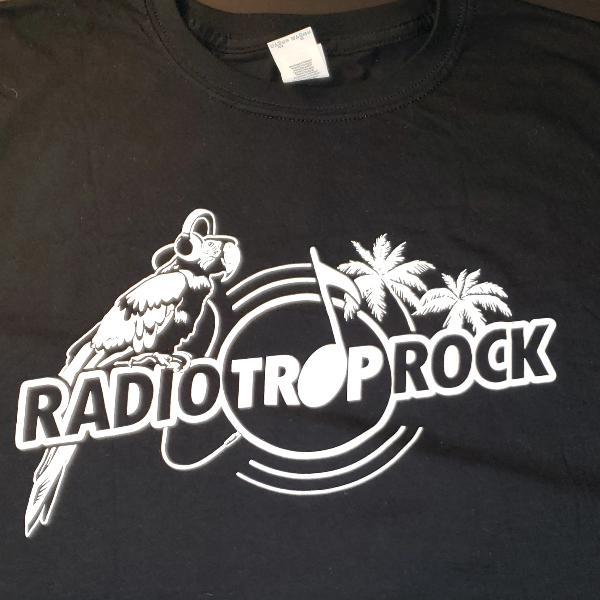Radio Trop Rock Mens T-Shirt -Black