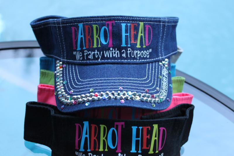 "Parrot Head - ""We Party with a Purpose"""