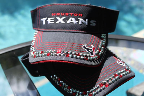 Houston Texans Visor - Blinged