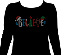 BELIEVE Bling Shirt