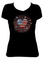 Red, White, Blue - Patriotic Bling